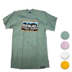 画像1: 【50%OFF】SEQUEL シークエル ロゴプリントT 全4色 メンズ/レディース (1)