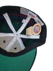 画像2: 【セール 60%OFF】EBBETS FIELD FLANNELS×WOOLRICH エベッツフィールドフランネルズ ベースボールキャップ SF グリーン ユニセックス (2)