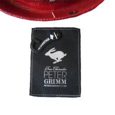 画像5: PETER GRIMM ピーターグリム ハット ENJOY CA レッド ユニセックス (5)