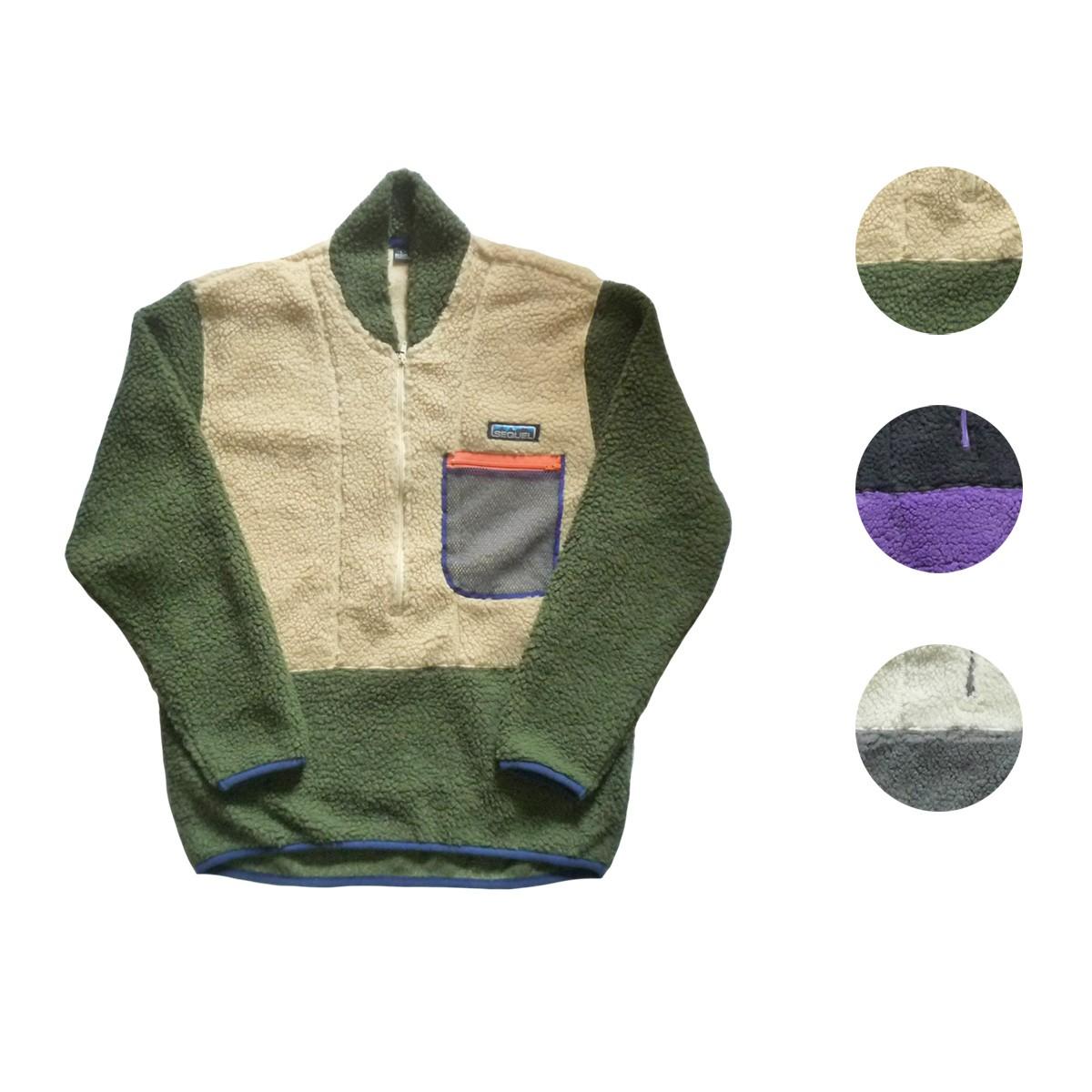 画像1: 【セール 60%OFF】SEQUEL シークエル ロックパイル ベストチェンジジャケット 全3色 メンズ (1)