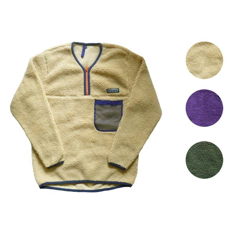 画像1: 【セール 60%OFF】SEQUEL シークエル ロックパイル Vヘンリージャケット 全3色 メンズ (1)