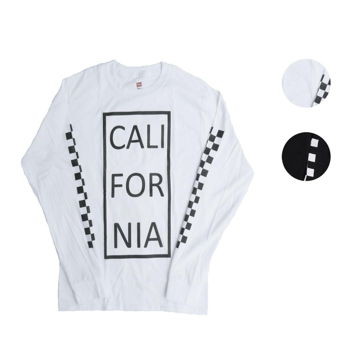 画像1: Hanes ヘインズ カリフォルニアロングTシャツ 全2色 メンズ (1)