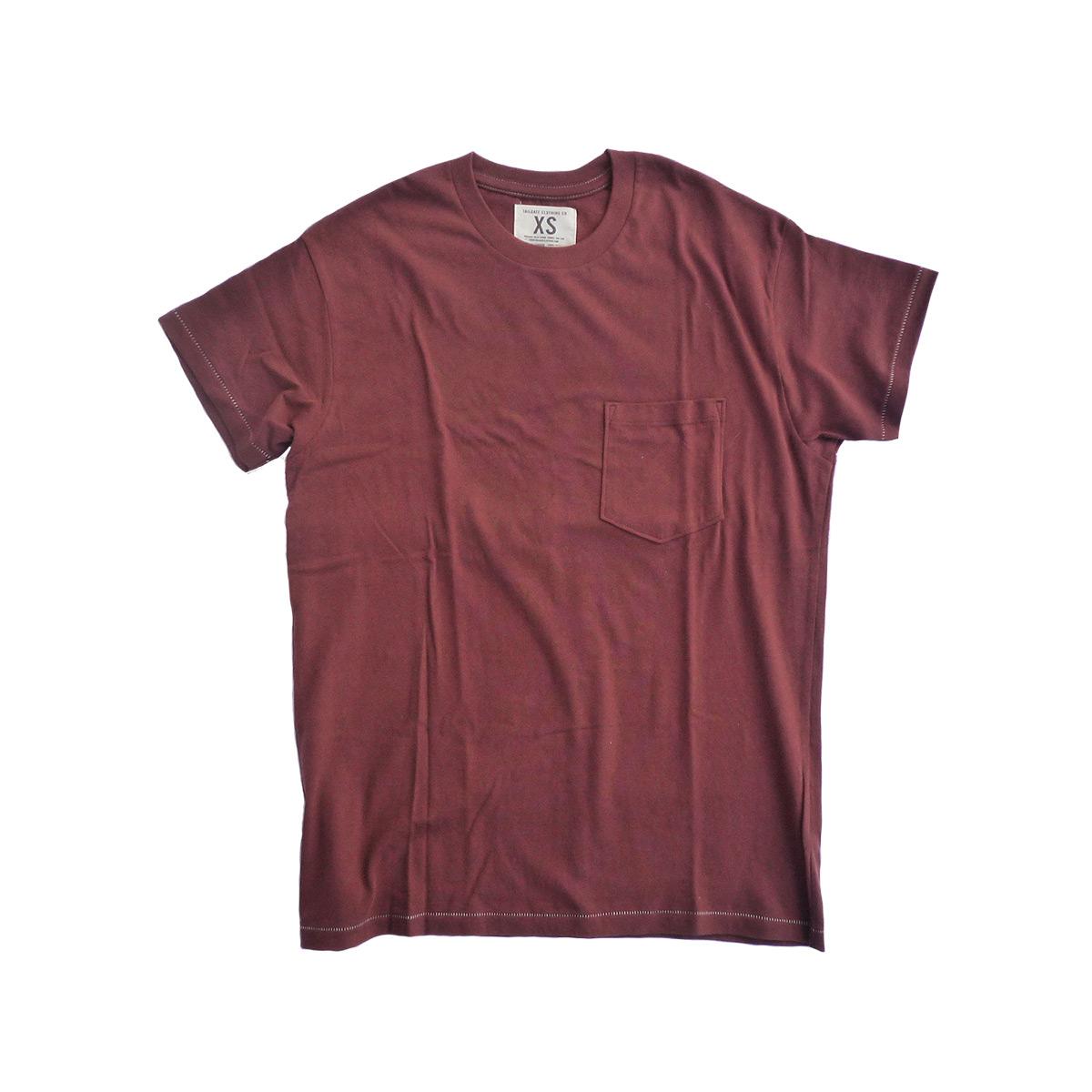 画像1: 【セール 60%OFF】TAILGATE テイルゲート ポケットTシャツ ワイン メンズ (1)