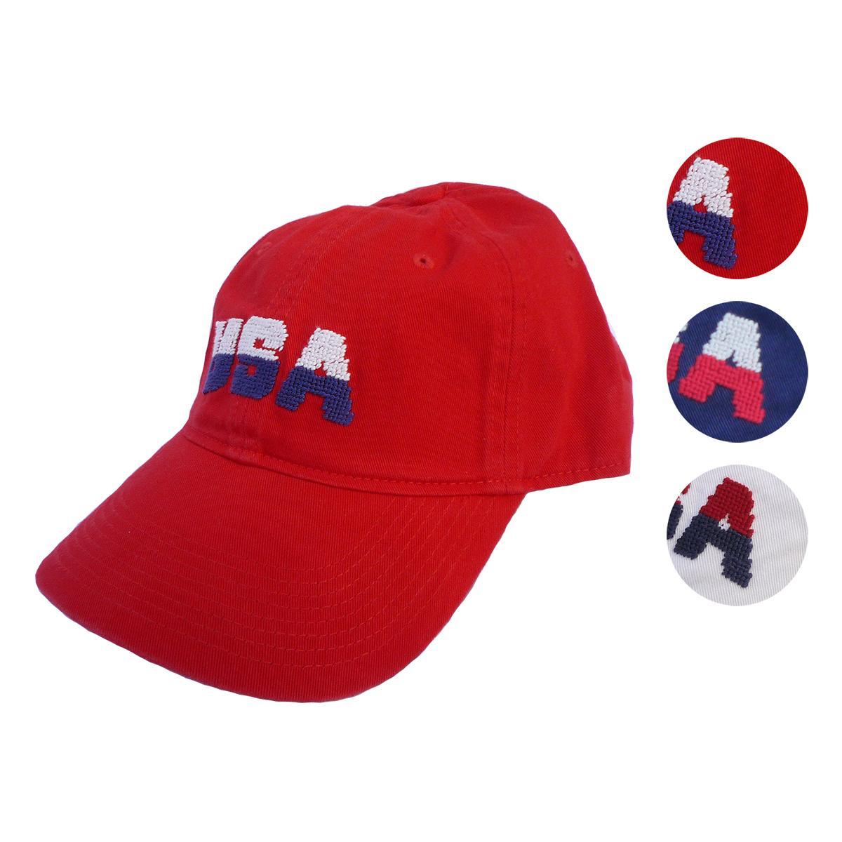 画像1: Smathers&Branson スマザーズ&ブランソン USA CAP 全3色 メンズ/レディース (1)
