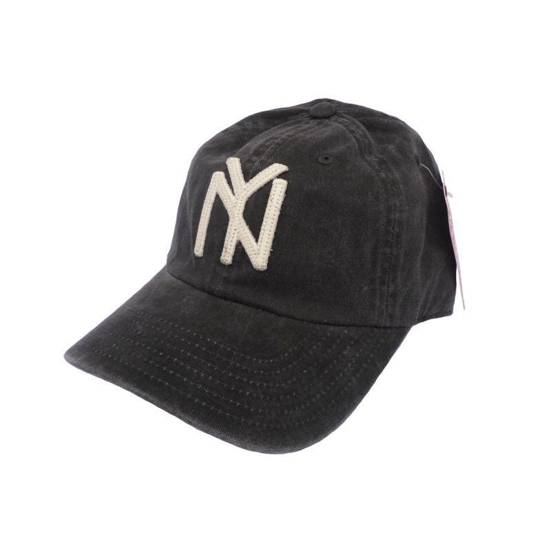 画像1: AMERICAN NEEDLE アメリカンニードル キャップ ARCHIVE CAP NEW YORK BLACK YANKEES BLACK メンズ/レディース (1)
