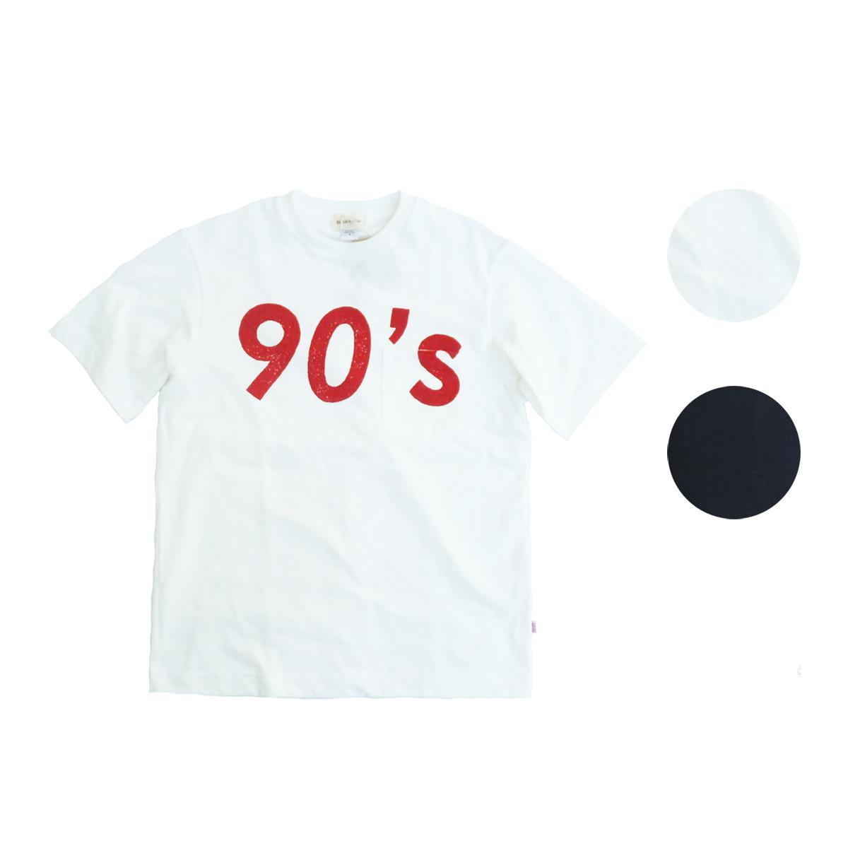 画像1: BACK HEAD バックヘッド STAMP POCKET TEE 90's 全2色 メンズ/レディース (1)