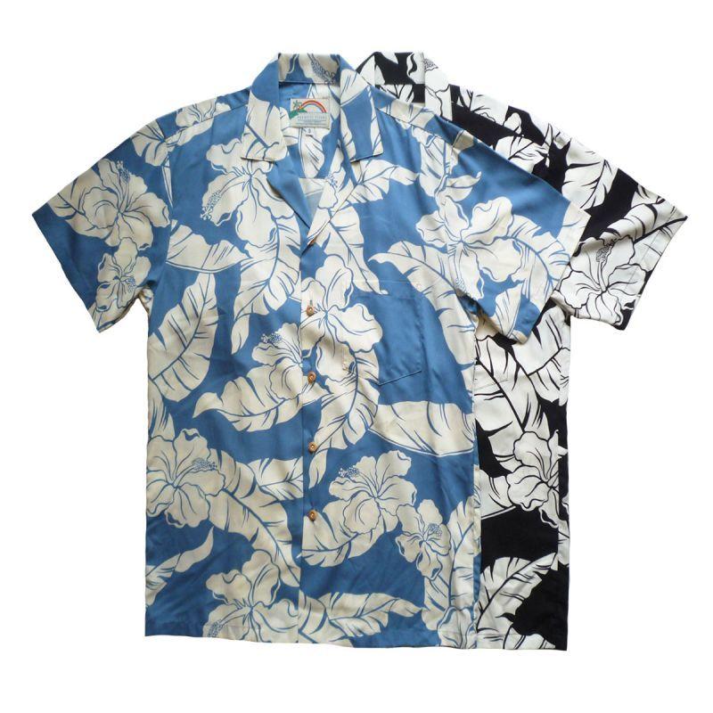 画像1: PARADAISE FOUND パラダイスファウンド アロハシャツ 全2色 メンズ (1)