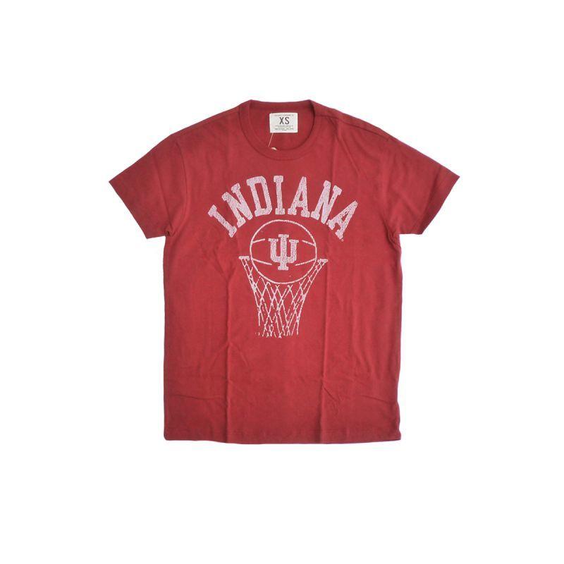 画像1: TAILGATE テイルゲート インディアナ Tシャツ CARDINAL メンズ/レディース (1)