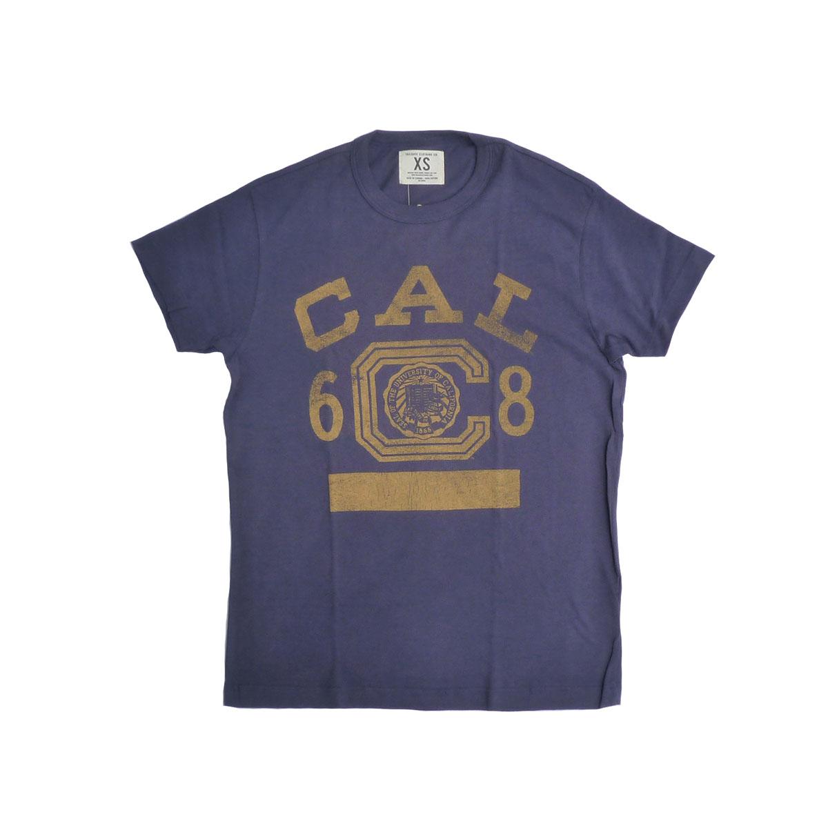画像1: TAILGATE テイルゲート カリフォルニア Tシャツ M/BLU メンズ/レディース (1)