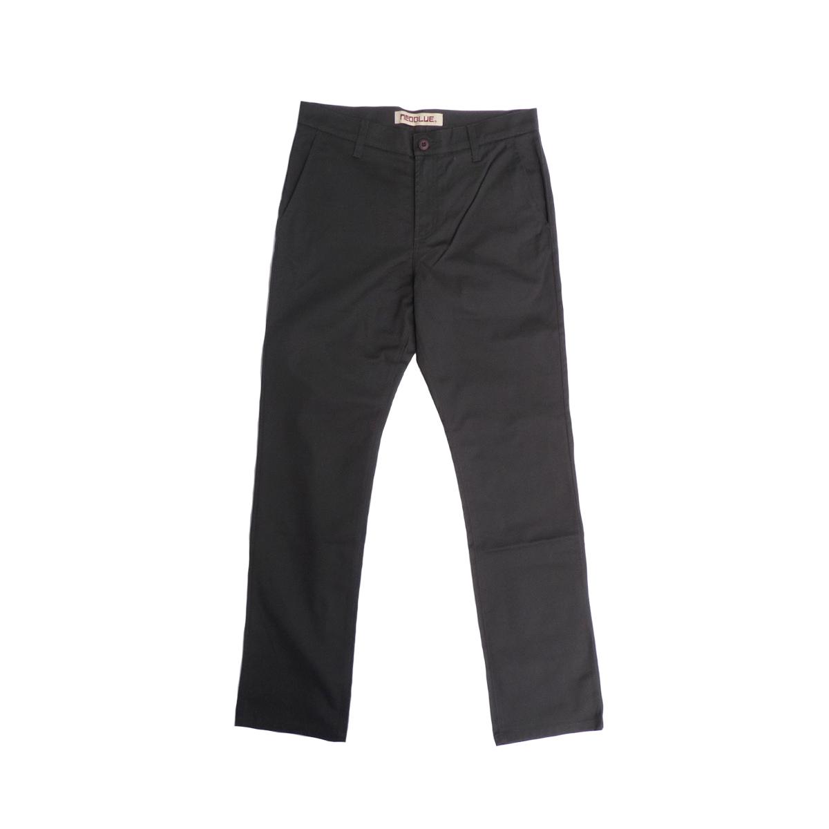 画像1: 【70%OFF】NEO BLUE ネオブルー CHINO PANTS CHARCOAL メンズ (1)