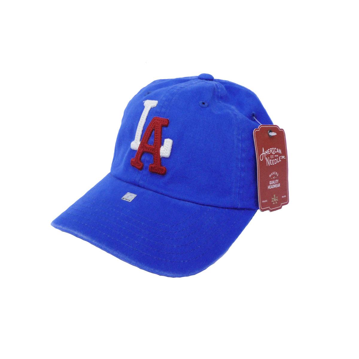 画像1: AMERICAN NEEDLE アメリカンニードル HOMETOWN COLLECTION CAP LA ANGELS BLUE メンズ/レディース (1)