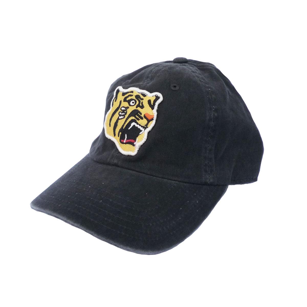 画像1: AMERICAN NEEDLE アメリカンニードル NIPPON LEAGUE BASEBALL ARCHIVE CAP 阪神タイガース BLACK メンズ/レディース (1)