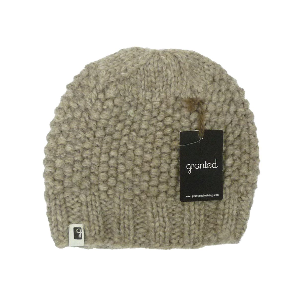 画像1: 【50%OFF】GRANTED グランテッド KNIT CAP PEBBLE TOQUE HAT メンズ/レディース GREY (1)