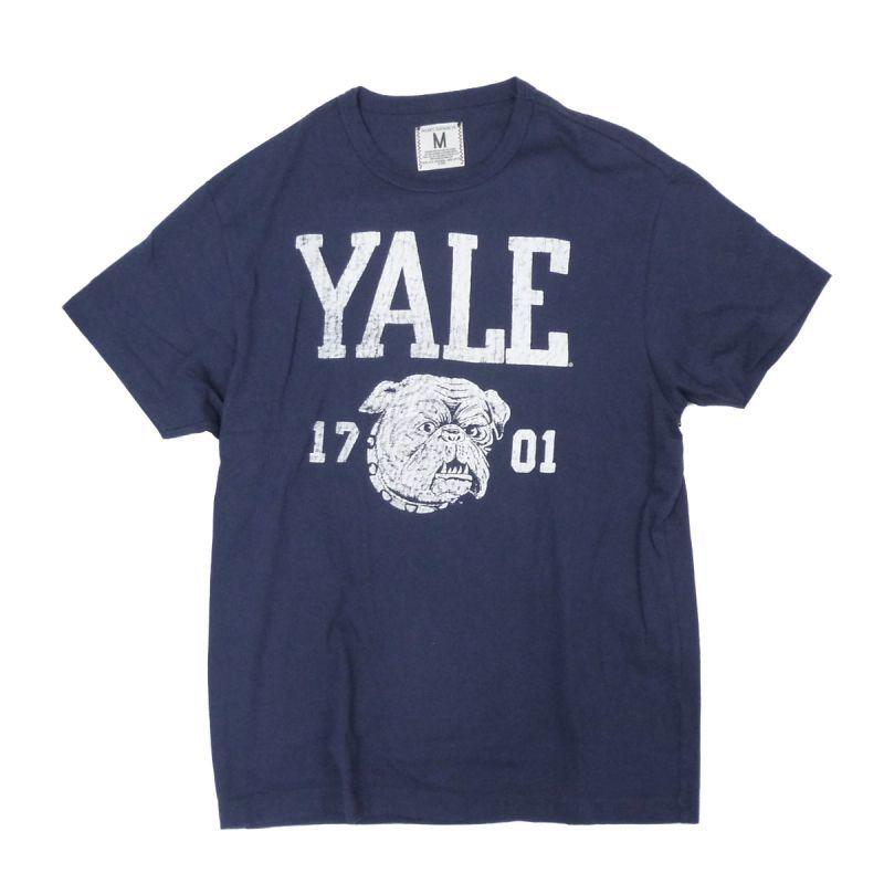 画像1: 【50%OFF】TAILGATE テイルゲート YALE Tシャツ MUST BLUE メンズ/レディース (1)