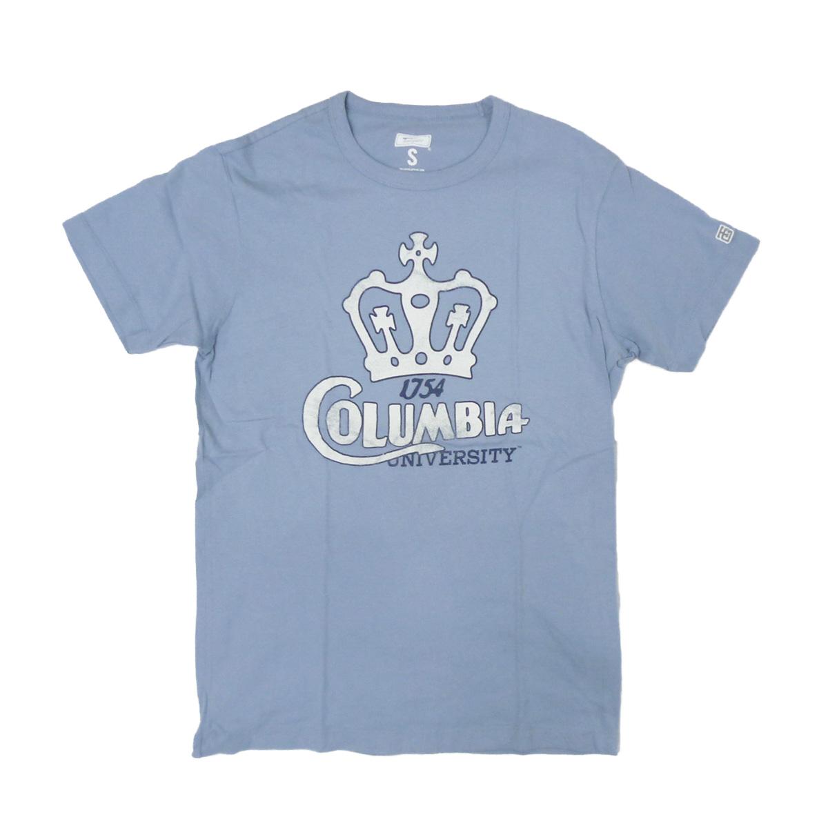 画像1: TAILGATE テイルゲート COLUMBIA Tシャツ ICE BLUE メンズ/レディース (1)