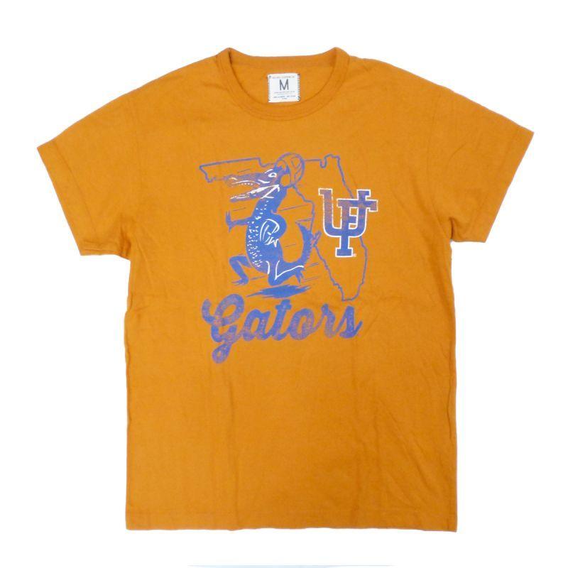 画像1: 【50%OFF】TAILGATE テイルゲート FLORIDA Tシャツ BURNT ORANGE メンズ/レディース (1)
