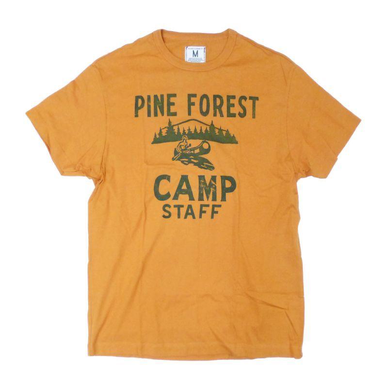 画像1: 【50%OFF】TAILGATE テイルゲート PINE FOREST Tシャツ BURNT ORANGE メンズ/レディース (1)