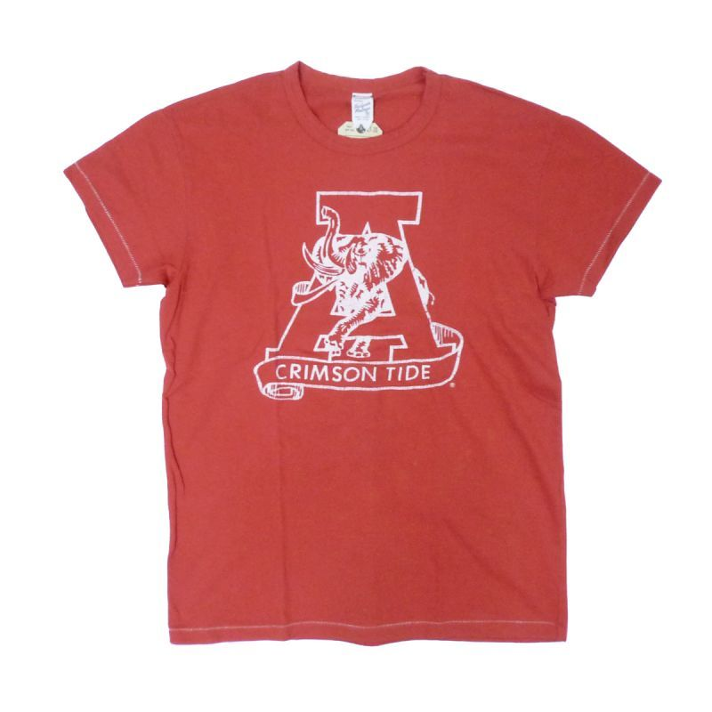 画像1: 【50%OFF】TAILGATE テイルゲート ALABAMA Tシャツ RED メンズ/レディース (1)