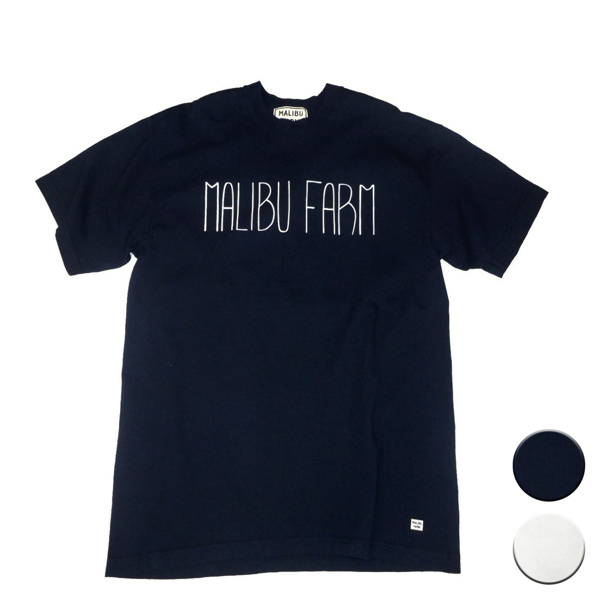 画像1: 【50%OFF】MALIBU FARM マリブファーム ロゴプリントT 全2色 メンズ/レディース (1)