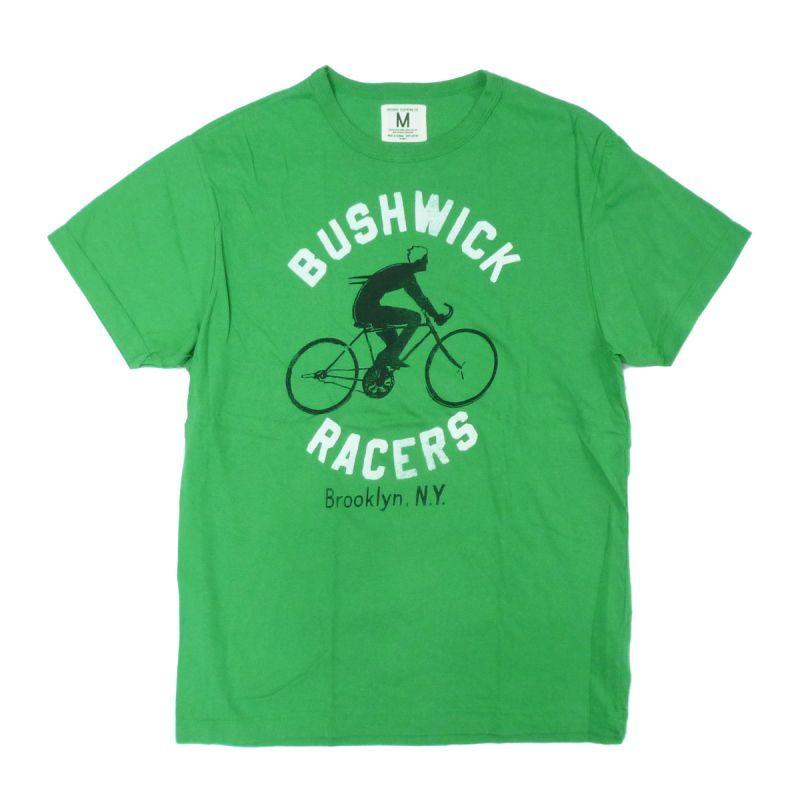 画像1: 【50%OFF】TAILGATE テイルゲート BUCHWICK RACER Tシャツ KELLY GREEN メンズ/レディース (1)