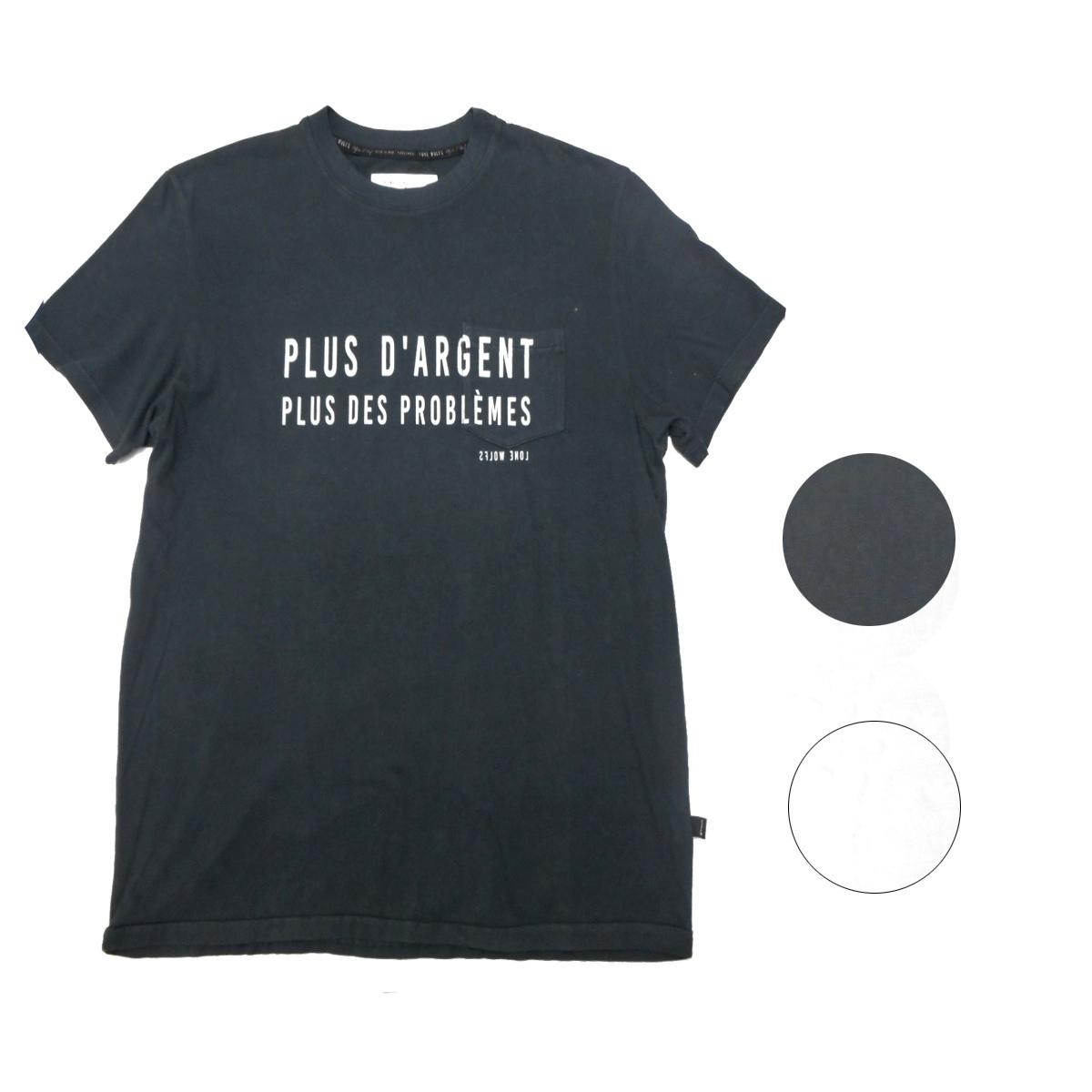 画像1: 【10%OFF】LONE WOLFS ローンウルフズ プリントTシャツ 全2色 メンズ/レディース (1)