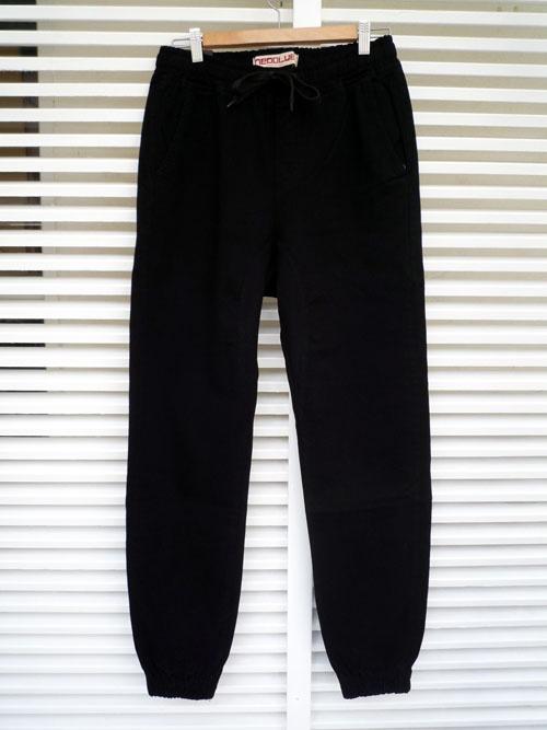 画像1: NEO BLUE ネオブルー ジョガーパンツ ブラック メンズ (1)