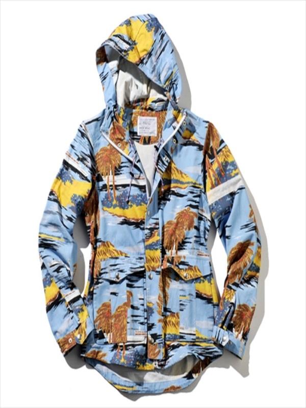 画像1: BACK HEAD バックヘッド ハワイアンマウンテンジャケット 全2色 メンズ (1)
