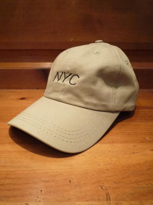 画像1: BACK HEAD バックヘッド ソリッドクラシックNYCキャップ カーキ ユニセックス (1)