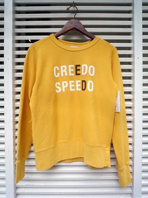 画像1: Yellow Rat イエローラット クルースウェット CREEDO SPEEDO イエロー メンズ (1)