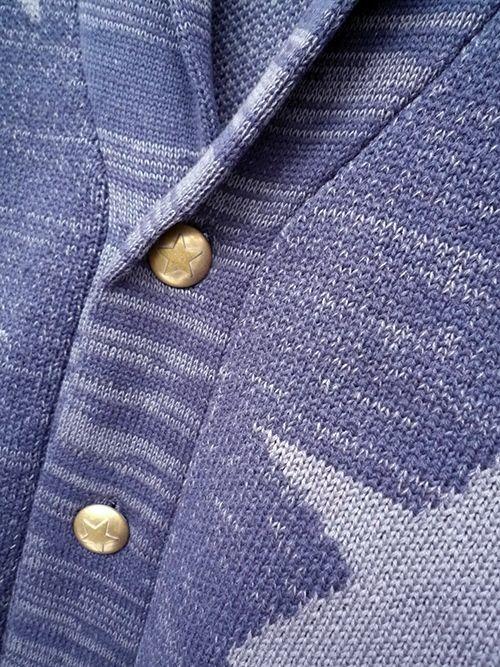 c2642dfb0  セール 70%OFF BACK HEAD バックヘッド スターカーディガン インディゴ メンズ  bh-star-cardigan-indigo