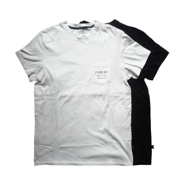 画像1: LONE WOLFS ローンウルフズ ポケットTシャツ SHOP LOGO 全2色 メンズ (1)