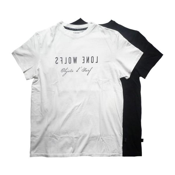 画像1: LONE WOLFS ローンウルフ Tシャツ SHOP LOGO 全2色 メンズ (1)