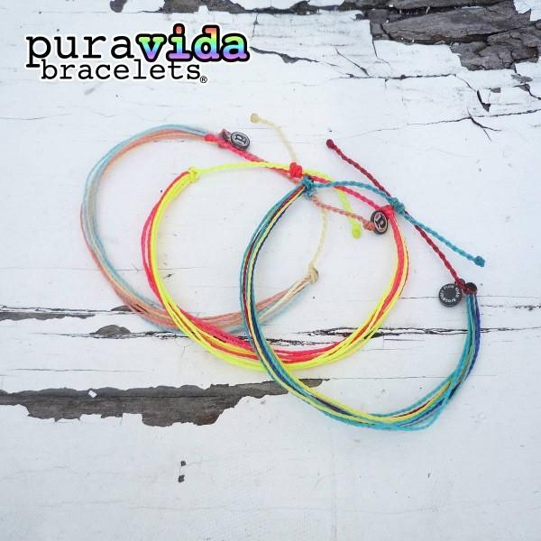 画像1: puravida bracelets プラヴィダブレスレット アンクレット 3本セット (1)
