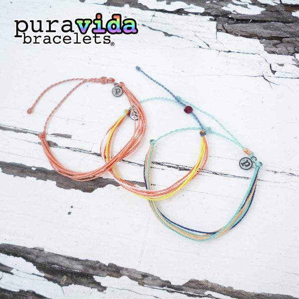 画像1: puravida bracelets プラヴィダブレスレット オリジナル 3本セット (1)