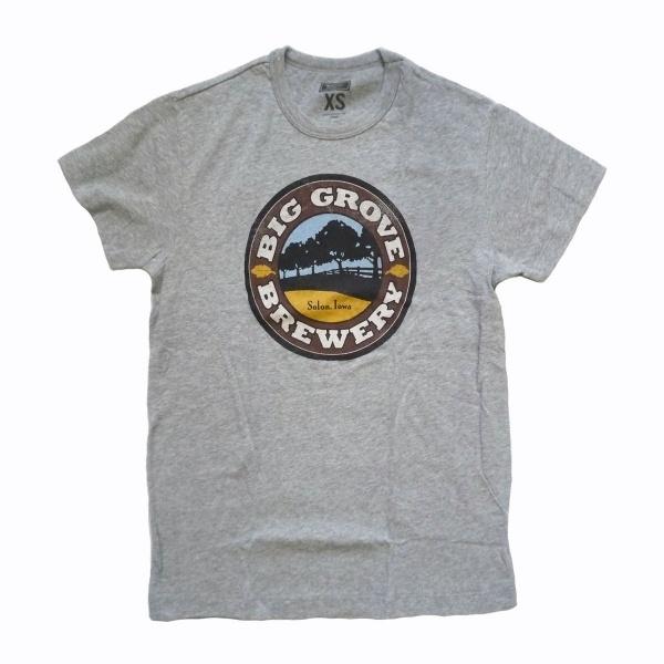 画像1: 【セール 60%OFF】TAILGATE テイルゲート Tシャツ BIG GROVE BREWERY  グレー メンズ (1)