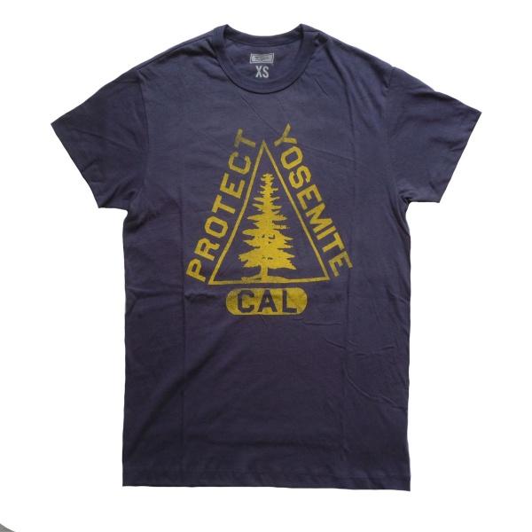 画像1: 【セール 60%OFF】TAILGATE テイルゲート Tシャツ PROTECT YOSEMITE  ネイビー  メンズ (1)