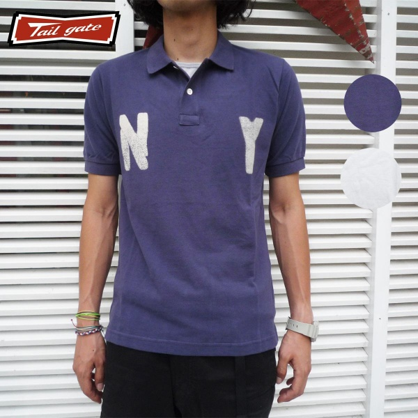 画像1: TAILGATE テイルゲート ポロシャツ N.Y. 全2色 メンズ (1)