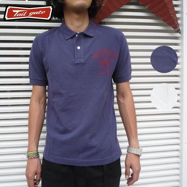 画像1: 【60%OFF】TAILGATE テイルゲート ポロシャツ UP STATE 全2色 メンズ (1)