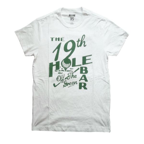 画像1: 【セール 60%OFF】TAILGATE テイルゲート Tシャツ 19TH HOLE BAR ホワイト メンズ (1)
