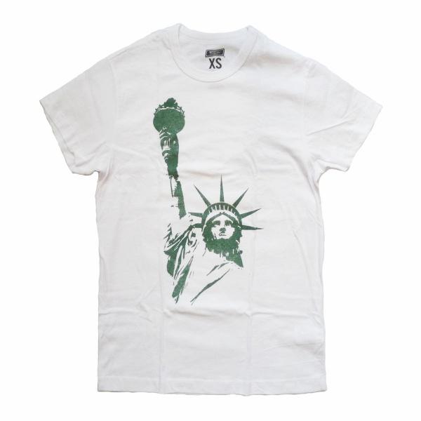 画像1: TAILGATE テイルゲートTシャツ STATUE OF LIBERTY ホワイト メンズ (1)