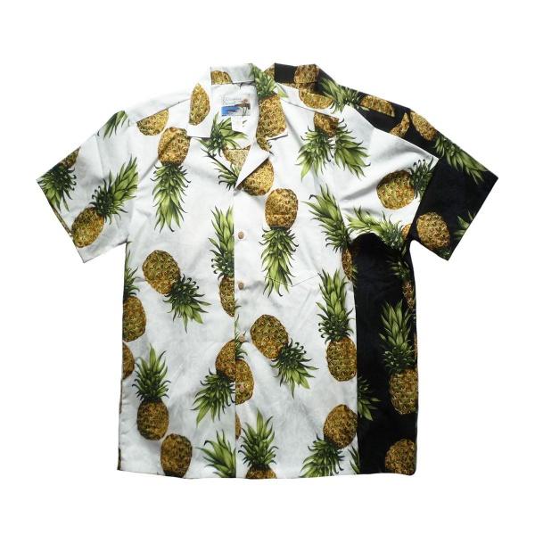画像1: WAIMEA CASUALS ワイメアカジュアルズ アロハシャツ BIG PINE 全2色 メンズ (1)
