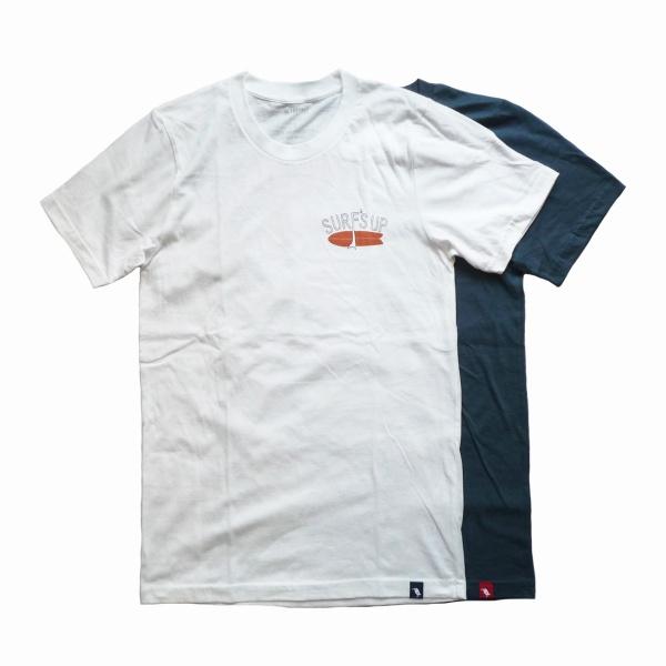 画像1: 【セール 50%OFF】WIMINI HAWAII ウィミニハワイ Tシャツ SURF'S UP 全2色 ユニセックス (1)
