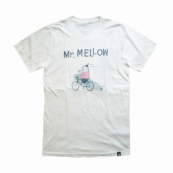 画像1: WIMINI HAWAII ウィミニハワイ Tシャツ BIKE MELLOW ホワイト ユニセックス (1)