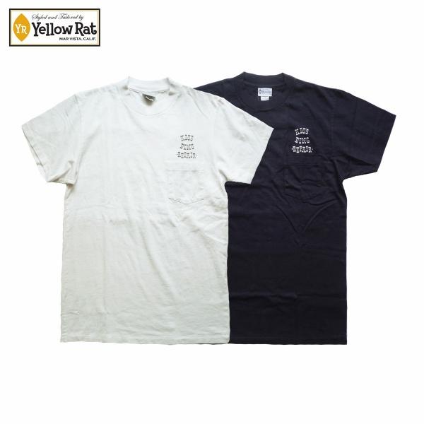 画像1: Yellow Rat イエローラット ポケットTシャツ KIO'S DING 全2色 メンズ (1)